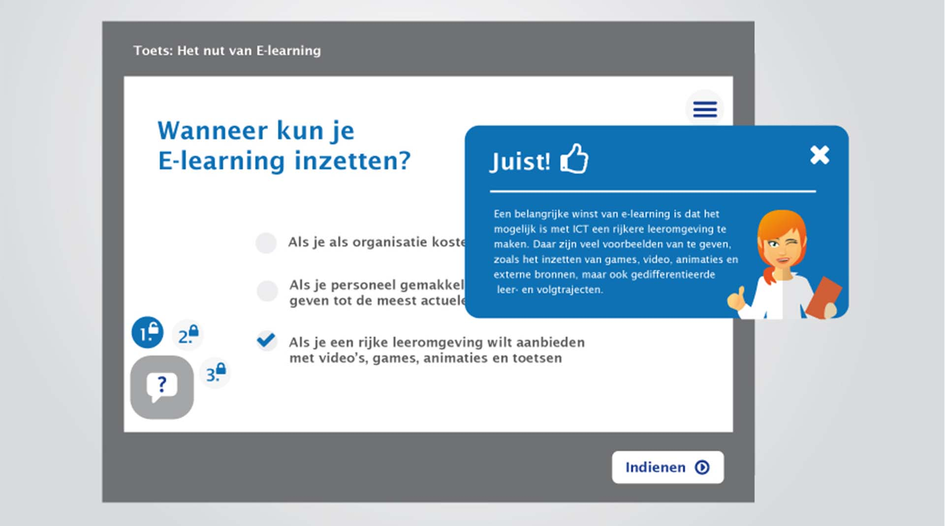 E-learning trainingen