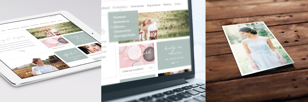 Beautiful Bride Company - Website & flyer